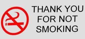 smoking sign