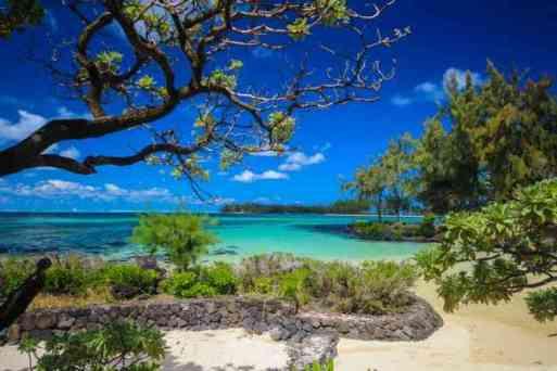 Mauritius East coast beach