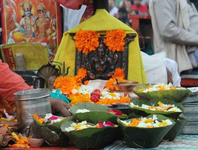 Offerings to Lord Ganesh