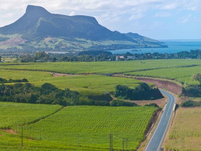 Primary road in Mauritius