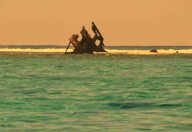 Dalbair wreck at Pointe d'Esny