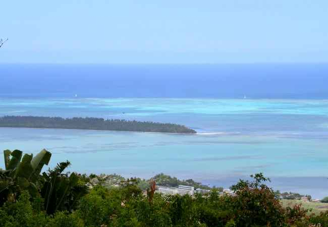 South West lagoon with ile aux Benitiers
