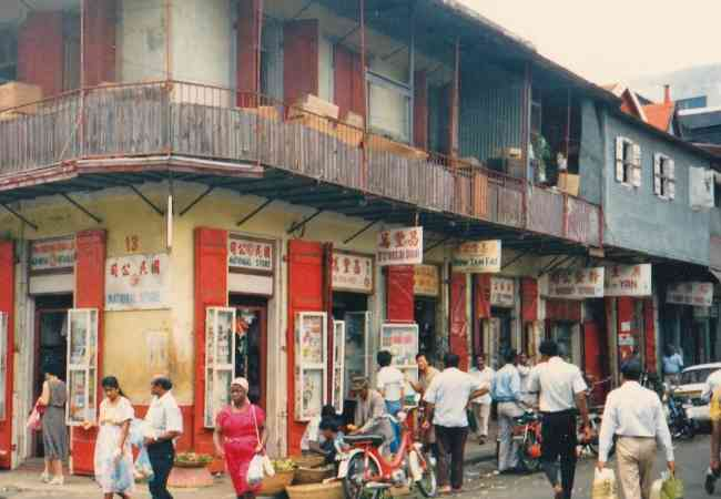 China Town shops in Port Louis