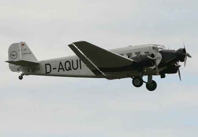 Junkers 52 airplane