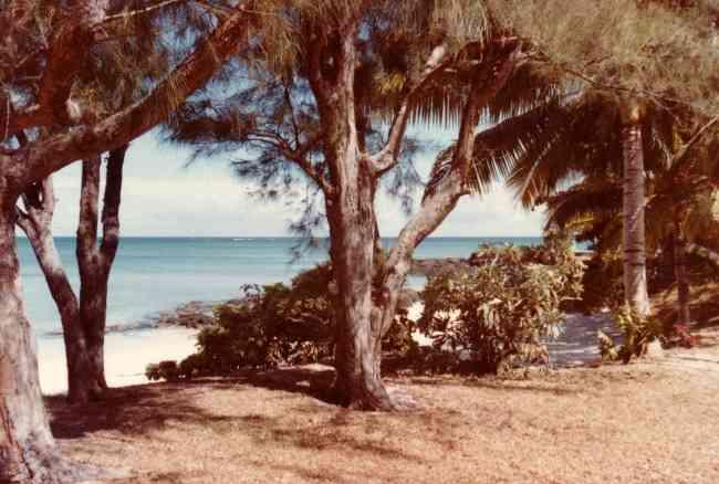 Private property beach mauritius