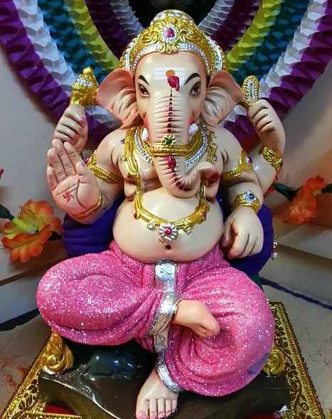 Ganesh seated