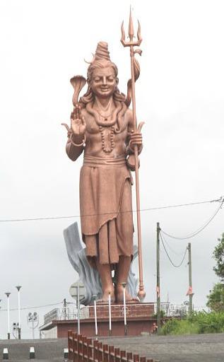 Shiva statue Grand Bassin Mauritius