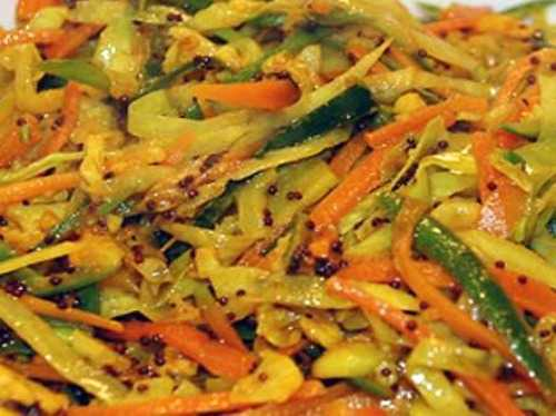 vegetable pickle or archards well liked in Mauritian food
