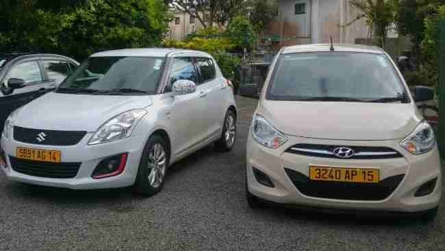 car hire in Mauritius