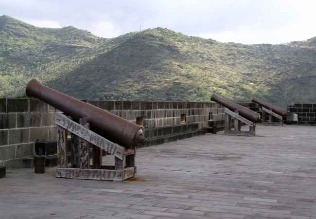 Fort Adelaide in Port Louis