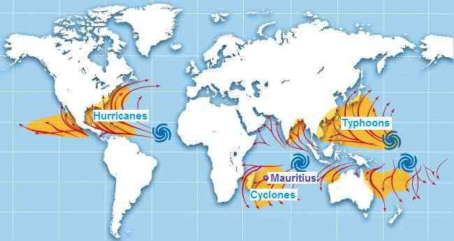 Mauritius cyclones what you must know holiday in mauritius but the chances of a cyclone passing over or near the island are remote imagine a tiny tropical island in the vast indian ocean gumiabroncs Gallery