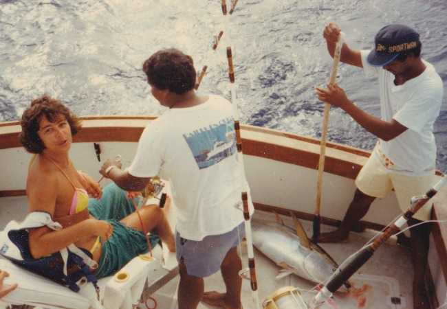 Deep sea fishing crew