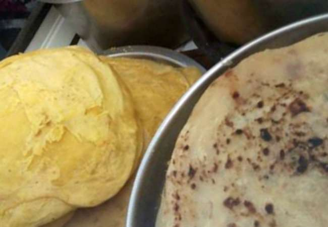 Mauritian dholl puris and faratas