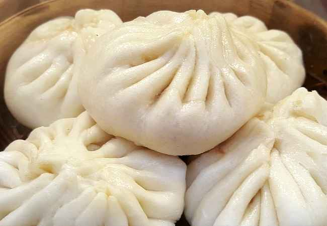 Chinese dumplings street food Mauritius