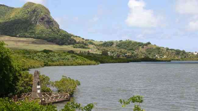 First Dutch landing monument Mauritius