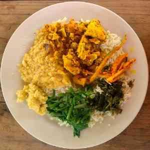 Creole meal