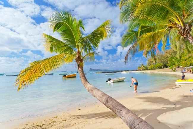 Grand Bay beach Mauritius