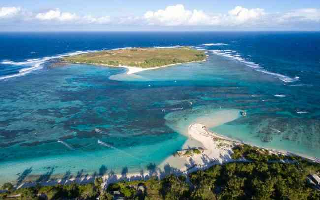Islets off the North coast of Mauritius