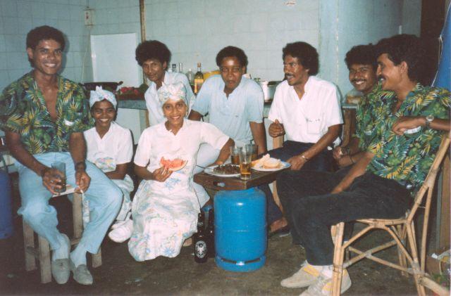 kitchen-staff at boutique hotel