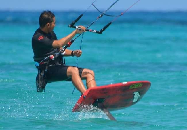 Mauritius kitesurf
