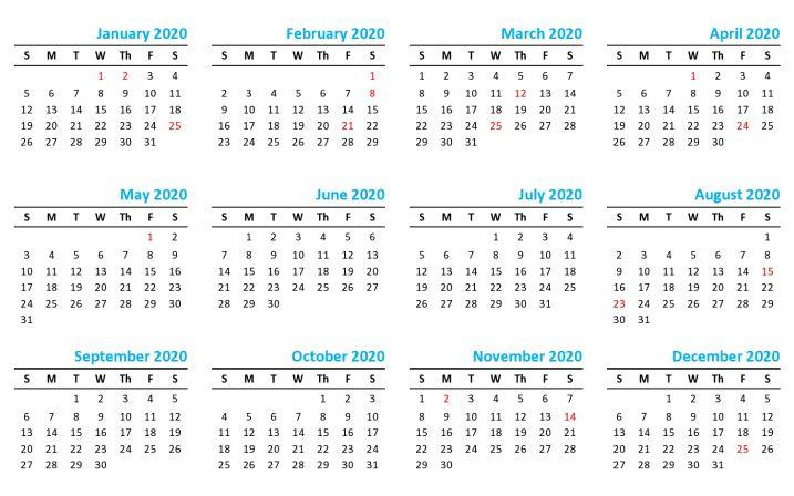 Calendrier National 2020.Mauritius Public Holidays 2019 2020 Calendar And Festivals
