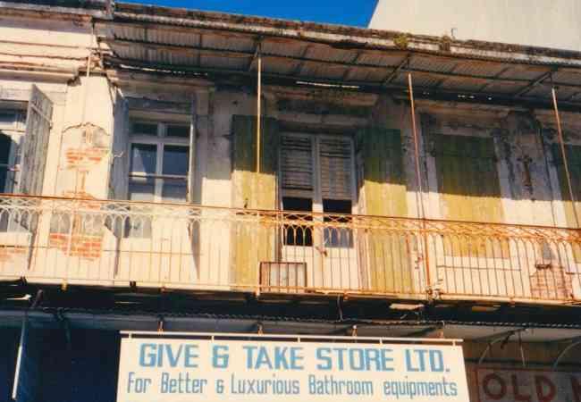 Old Port Louis shops
