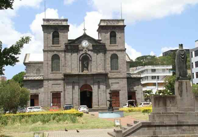 Saint Louis cathedral in Port Louis