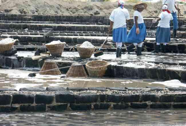 Mauritius Salt Pans