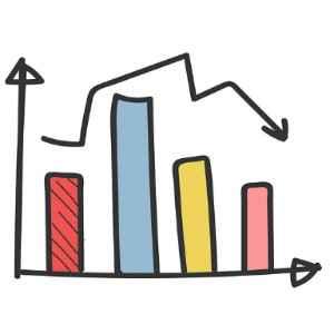 Population statistics graphic