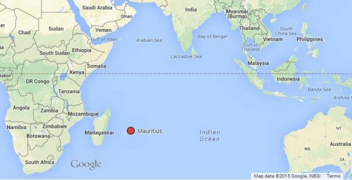 Map 9f Australia.Where Is Mauritius Location Map Of The Island