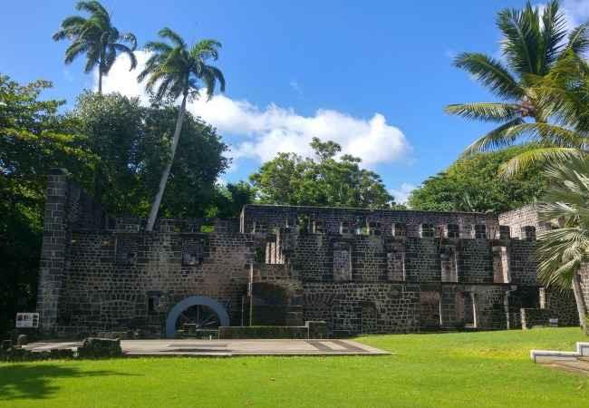 Balaclava Ruins in Mauritius