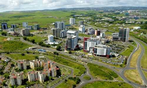 Mauritius Cyber city at Ebene