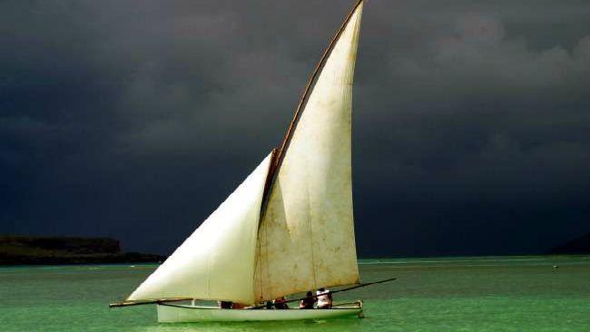 Fisherman boat Mauritius