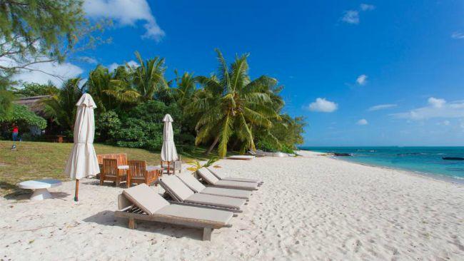 Mauritius beach villas