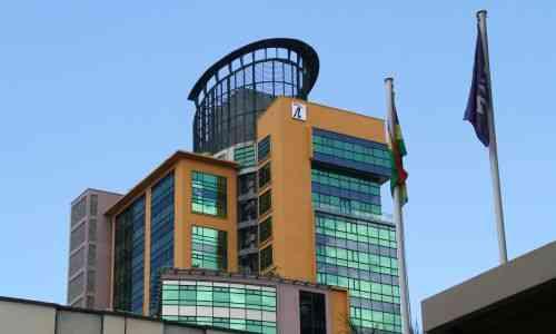 Port Louis modern office buildings