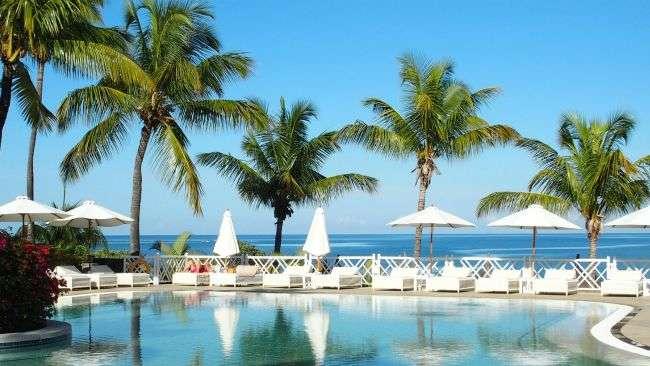 swimming pools at resort hotel