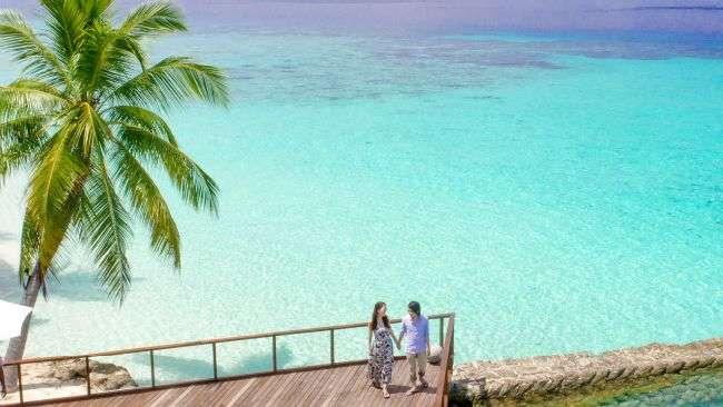 romantic island holiday